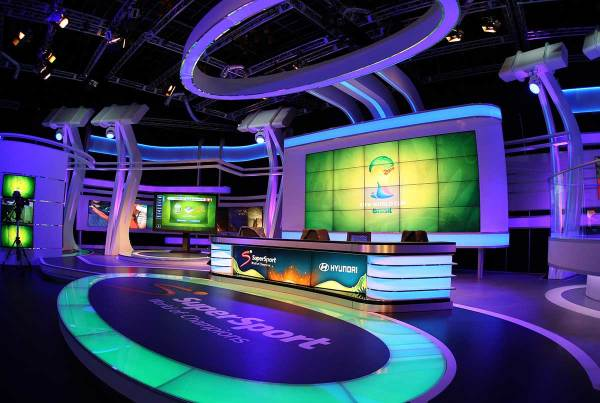 Brazil Soccer World Cup 2014, SuperSport Studio 6 Randburg