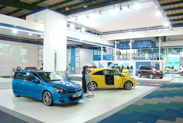 General Motors SA, Johannesburg International Motor Show 2008, 360 Degrees Johannesburg Expo Centre