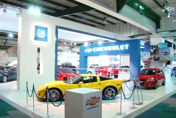 General Motors SA, JHB International Motor Show 2008, 360 Degrees Johannesburg Expo Centre