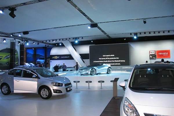 General Motors SA, Johannesburg International Motor Show 2011, 360 Degrees Johannesburg Expo Centre