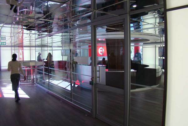 etv Reception Area Revamp 2009 etv Johannesburg